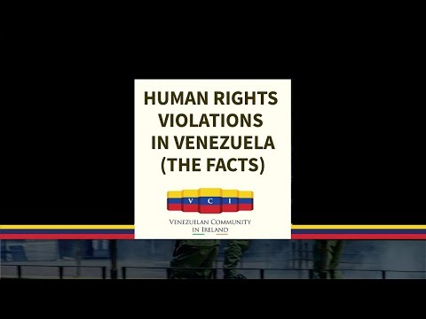 "VCI Conference - ""Human Rights Violations in Venezuela - The Facts"""