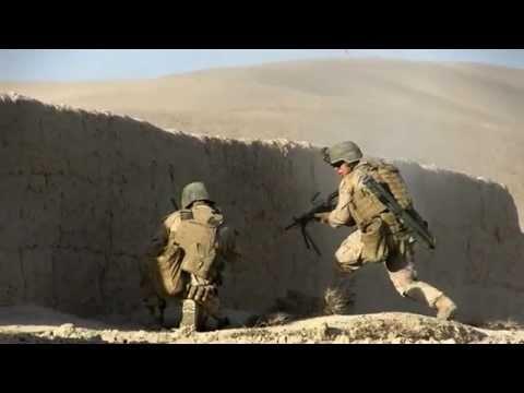 Intense Combat With Taliban - Marines Insert Across Helmand River