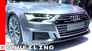 2019 Audi A6 Unveiling