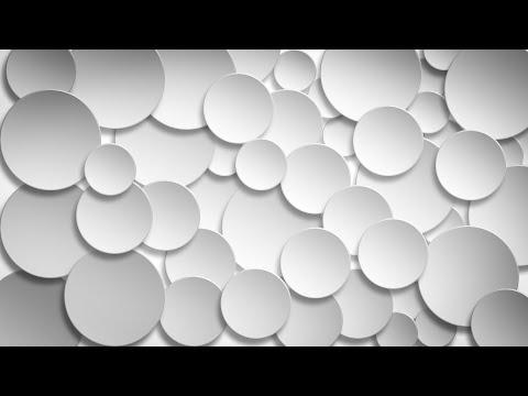 Photoshop Tutorial   Graphic Design   3D White Circles