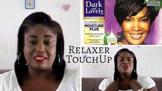 Relaxer Update #3 _ Using Dark and Lovely Moisture Plus