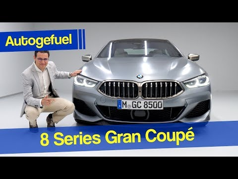 BMW 8-Series Gran Coupé Premiere First Look - Autogefuel
