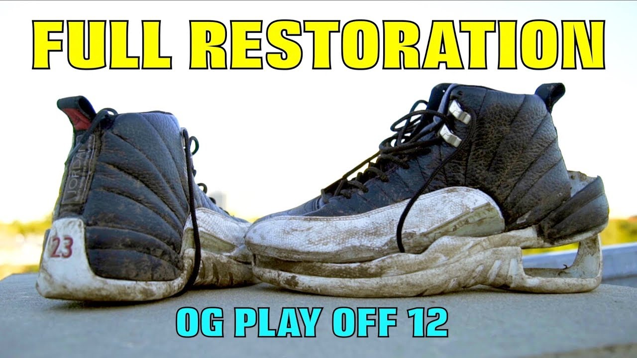 54237ae9d8217d OG PLAYOFF 12 FULL RESTORATION!! - YouTube