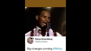 "Steve Greenberg ""Big Changes Coming #RKelly "" 👀👀👀👂🏽👂🏽👂🏽"