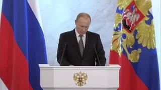 В.Путин.Послание Президента Федеральному Собранию, 04.12.14