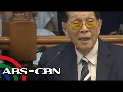 The World Tonight: Enrile, 94, banks on social media for Senate bid