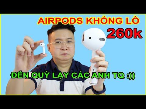 Mở hộp Tai Nghe AirPods Siêu To Khổng Lồ giá 260k trên LAZADA SHOPEE. Cực HOT 2020   MUA HÀNG ONLINE