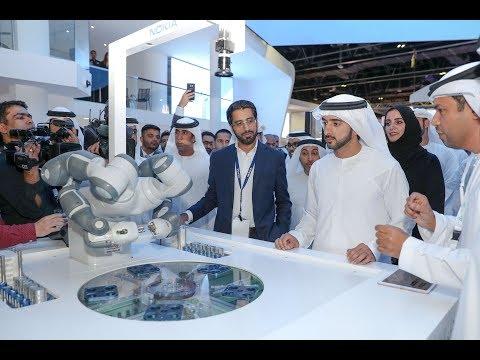 حمدان بن محمد يفتتح معرض جيتكس للتقنيات الحديثة