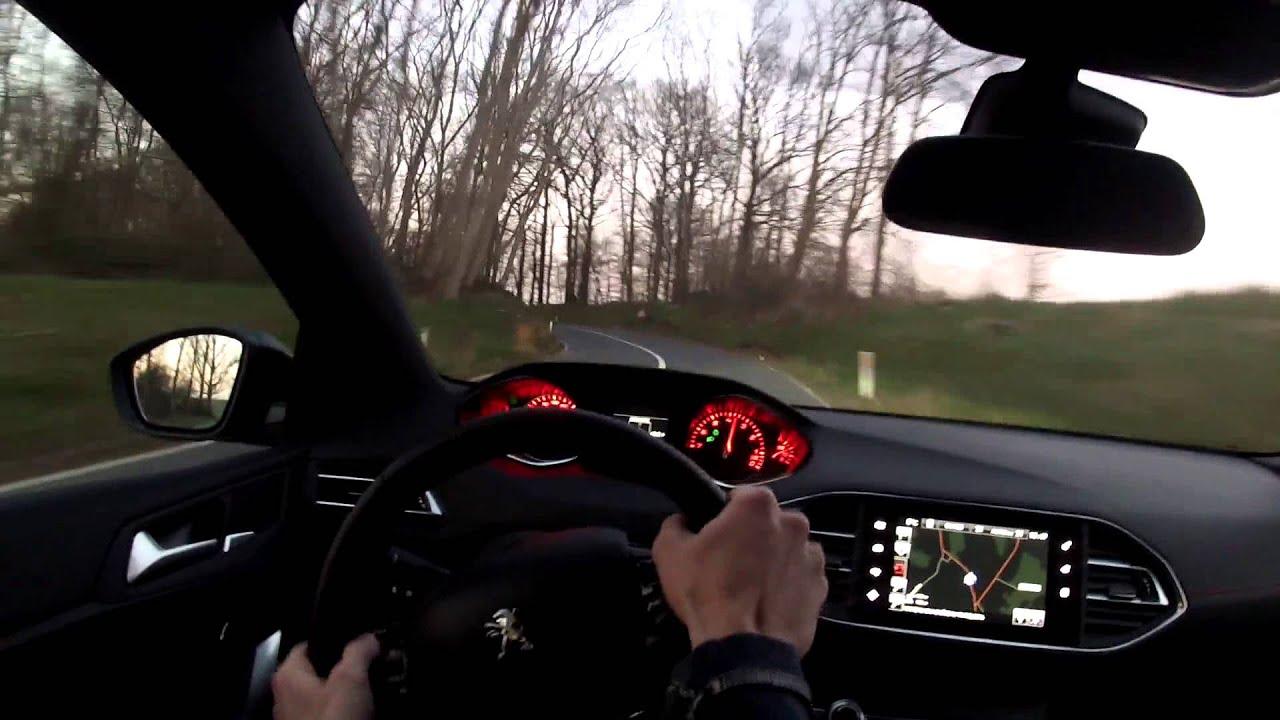 Peugeot 308 Gt Pov Youtube