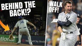 He Made A BEHIND THE BACK Catch!? Yankees Walk Off Home Run! MLB Recap & Highlights