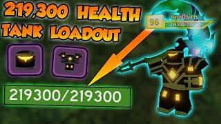 219,300 HEALTH *BEST* TANK LOADOUT!!! - ⚔️Roblox Dungeon Quest