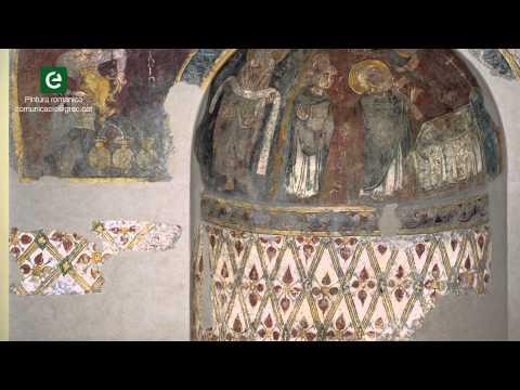 L'absidiola de Sant Esteve d'Andorra la Vella (Vídeo 14/19 sobre pintura romànica)