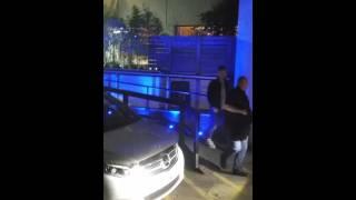 Justin Bieber & Sam Smith at ITV Studios London 22/10/15