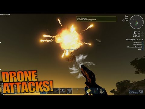 DRONE ATTACKS! | Empyrion: Galactic Survival | Let's Play Gameplay | S12E03