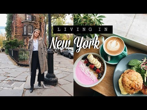 WHAT LIVING IN NEW YORK IS REALLY LIKE   New York Weekend Vlog