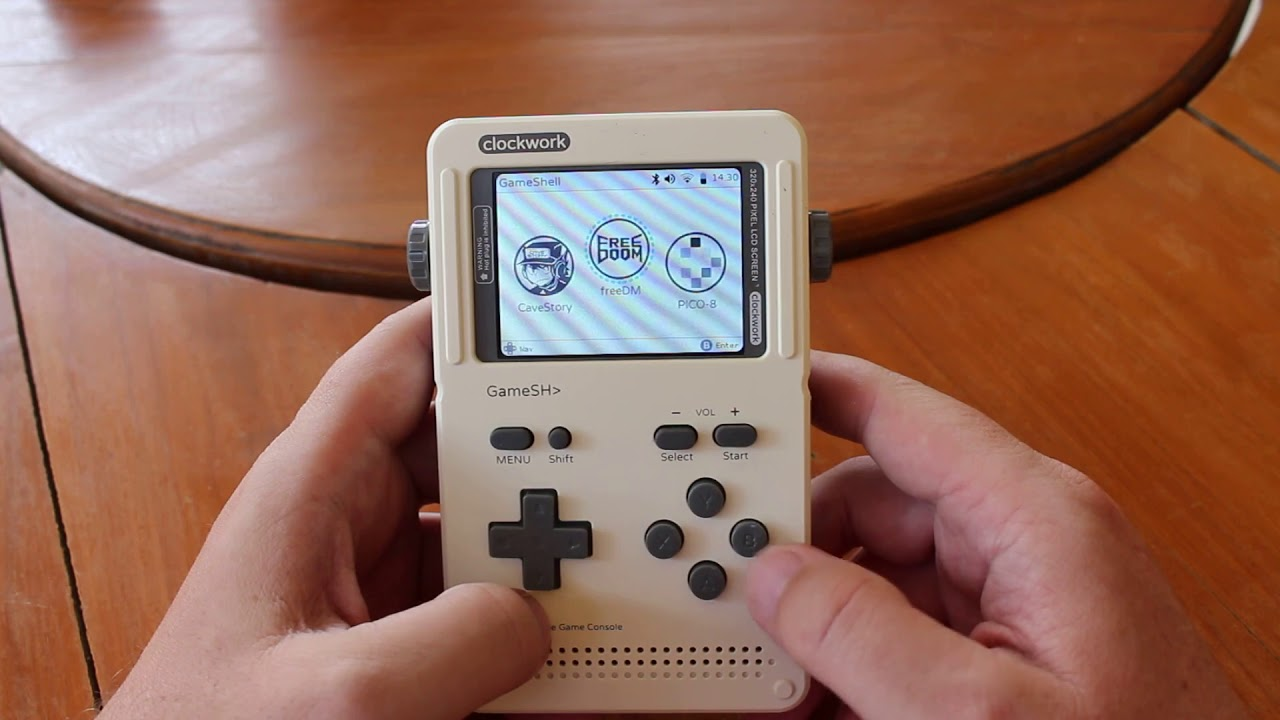 GameShell Kit Review - Part 2: An Hackable Retro Gaming Console