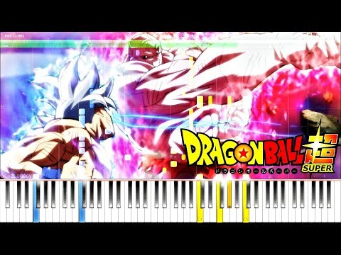Dragon Ball Super OST - The Power to Resist (Ultra Instinct Rush) | Piano Tutorial