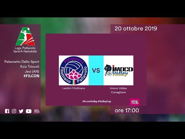 Filottrano - Conegliano | Speciale | 2^ Giornata | Lega Volley Femminile 2019/20