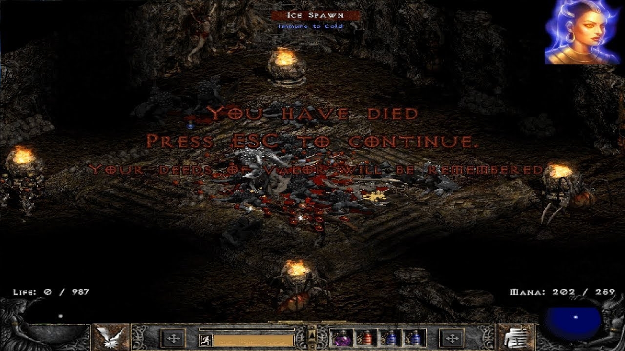 Diablo ii hardcore