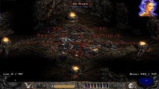 Nexius' Death At Level 92 - Hardcore Holy Grail Sorceress Diablo 2 (December 22, 2017)