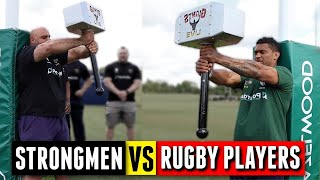STRONGMEN vs RUGBY PLAYERS | Giants Live Challenge