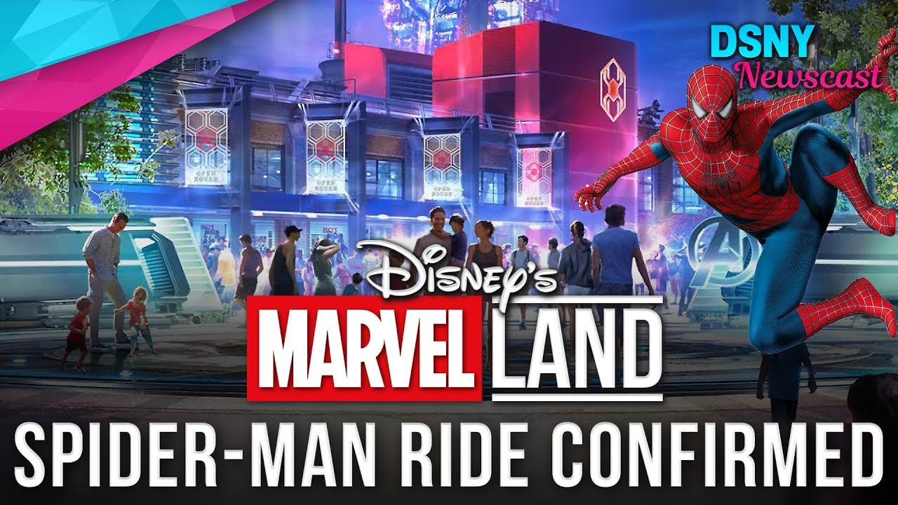 New Concept Art Released For Marvel Land At Disneyland Resort
