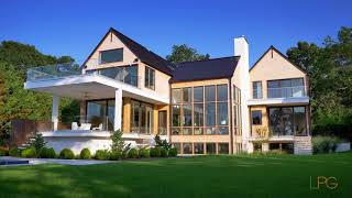 Architectural and Design Dream Home in Sag Harbor, NY  -- Lifestyle Production Group