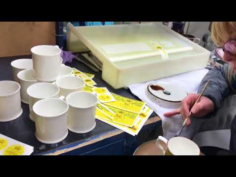 William Edwards Home | Gilding Bone China by Hand - Royal Wedding Collection