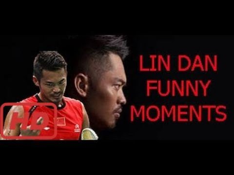 Love Badminton | LIN DAN Last Chance (super dives and racket fly,...) Funny moments