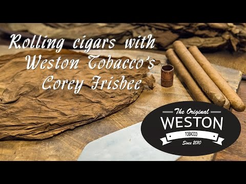 Rolling cigars at Weston Tobacco