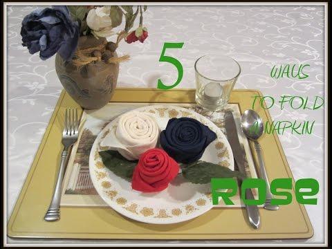 napkin-folding:-5-ways-to-fold-a-napkin-rose