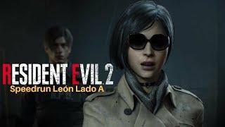 Resident Evil 2 Remake - Speedrun Any% lado A leon - Gameplay En Español