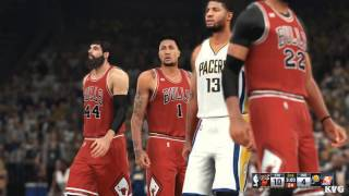 NBA 2K16 - Chicago Bulls vs Indiana Pacers Gameplay (PC HD) [1080p60FPS]