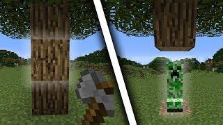 Minecraft, But Mining Blocks Spawns Mobs