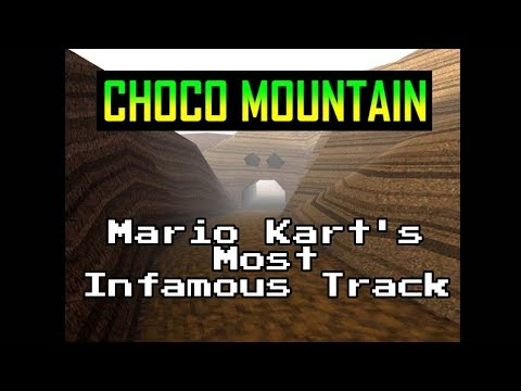Choco Mountain: The History of Mario Kart 64's Most Infamous Track