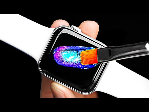 Customizing 40 Apple Watches ⌚️ 💦Then Giving Them Away!!