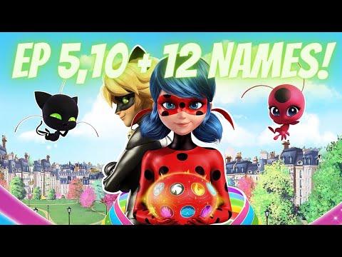Download NEW MIRACULOUS LADYBUG SEASON 4 EPISODE 5, 10, & 12 NAMES!   Miraculous Ladybug Season 4 Spoilers!�✨