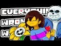 Everything Wrong With UNDERTALE in 49 Minutes