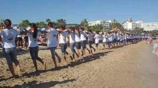 Largest sirtaki dance