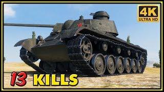 A-43 - 13 Kills - 1 VS 7 - World of Tanks Gameplay - 4K Ultra HD Video