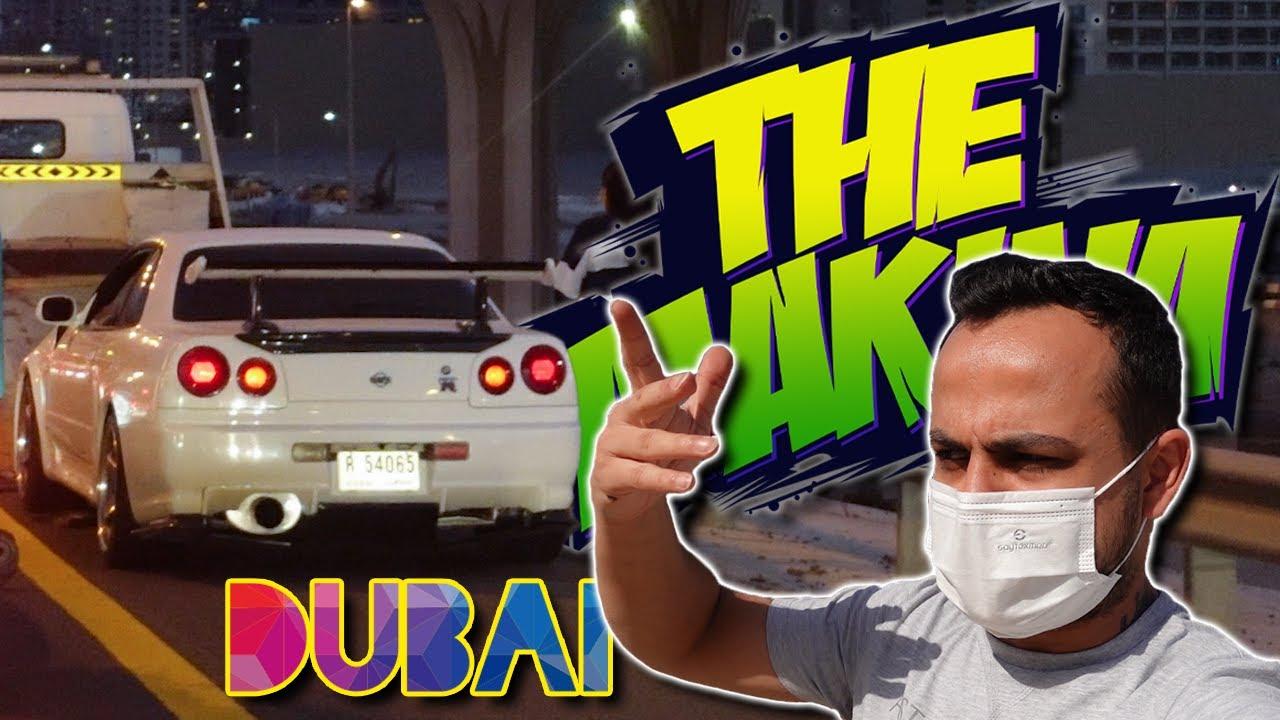 NISSAN SKYLINE GT-R YOLDA KALDI! Dubai AutoDrome Efsane Arabalar | DUBAI - BÖLÜM 2