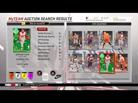Great Filters With To Help With Market Crash!! NBA2K18 MyTeam
