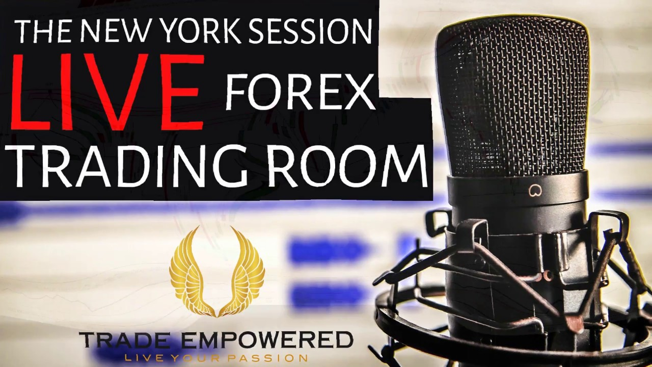 Ny Live Trading Room Forex Trading Using Htf Ltf Youtube