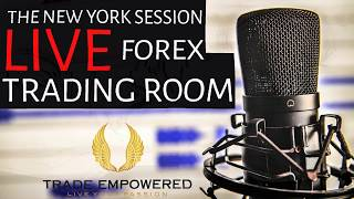 NY Live Trading Room - Forex Trading Using HTF & LTF