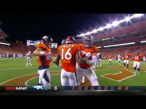 Bennie Fowler lays out for Broncos first TD of season!