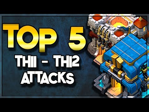 TOP 5 Attack Strategies to Three Star at TH11 and TH12 | Clash of Clans