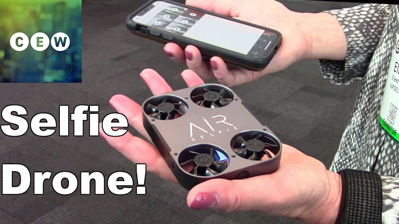 Airselfie 2 Pocket Size Flying Camera