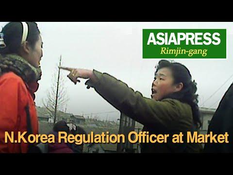[North Korea Video Report] N.Korea Regulation Officer at Market