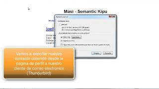 Ejemplo uso OperatorFirefox Add on