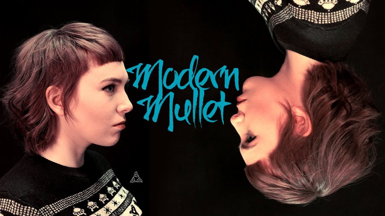Modern Mullet Haircut Tutorial - YouTube